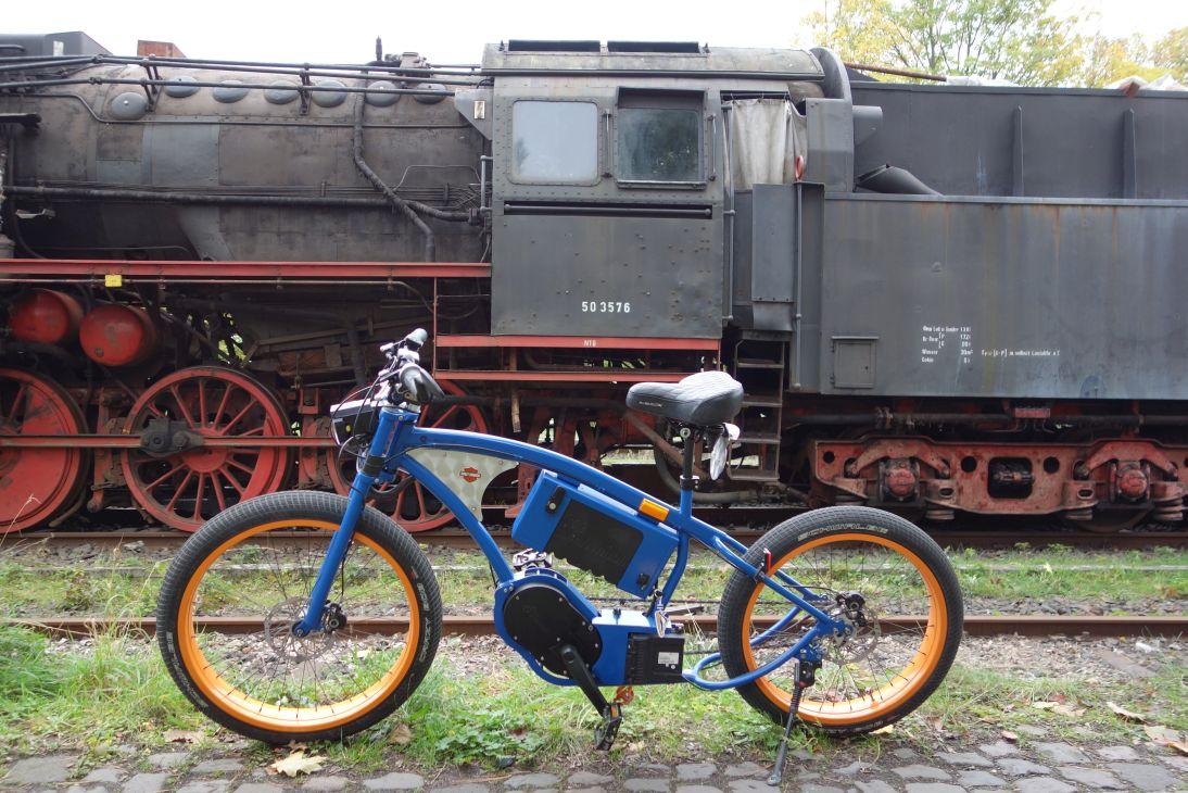 BlackBlock 1 - nur eine Lokomotive hat mehr Drehmoment