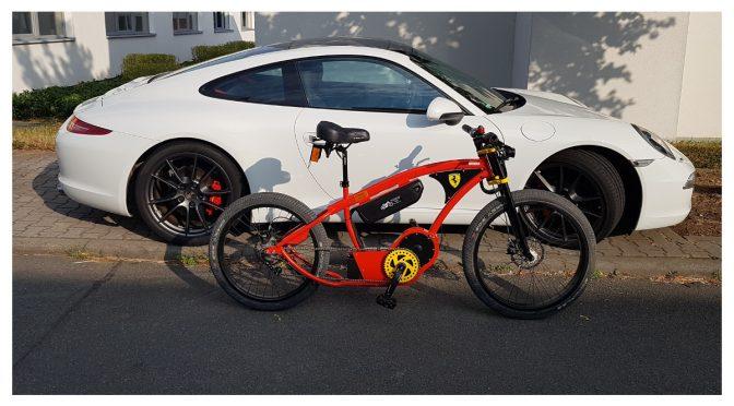 Power-Akku im Red Porsche Killer